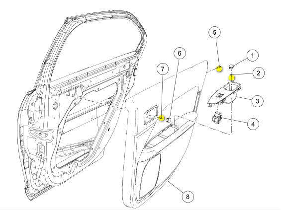 ford f150 hood latch diagram html