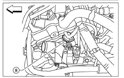 Nissan Sentra Crankshaft Sensor Location moreover Picture Location Starter Nissan Altima 2 5s likewise Oil Pan Reseal Cost together with 2qbvs Replace Crankshaft Postion Sensor 2004 Kia further T3001956 Need diagram put spark plug cables. on 2005 nissan quest camshaft sensor location