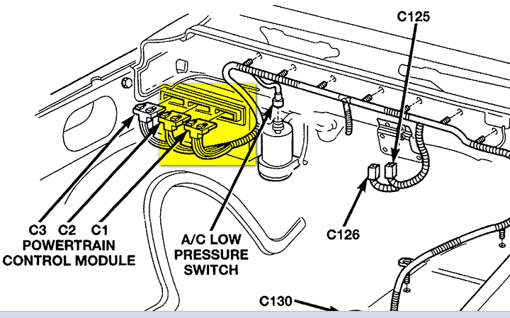 chevy silverado ecm location  chevy  free engine image for