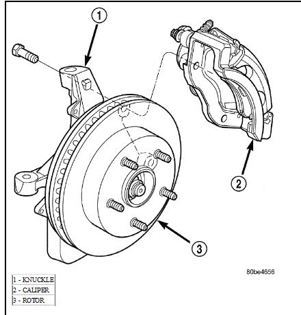 2004 dodge stratus brakes diagram