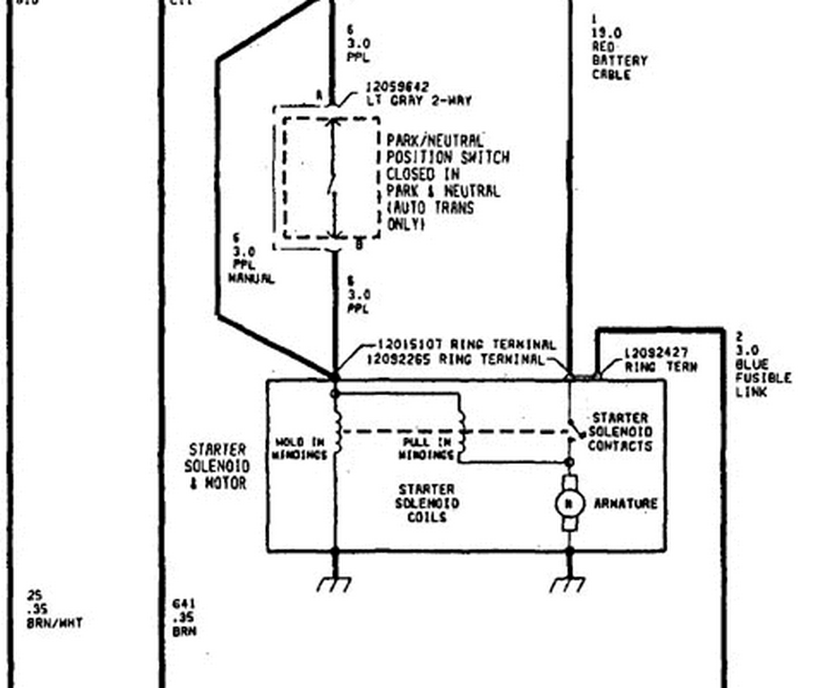 Schematics And Diagrams  Saturn Sl2 Starter Wiring Diagram