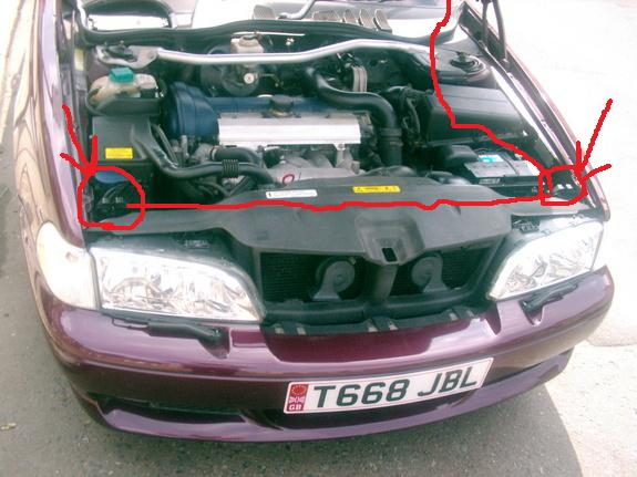 I had to remove the drivers side hood latch to replace the headlight glass on my 2000 Volvo v70 ...