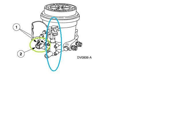 2001 f250 fuel filter housing f250 fuel filter housing diagram 2001 f250 w 7.3 has small amount of fuel on top of motor ... #3