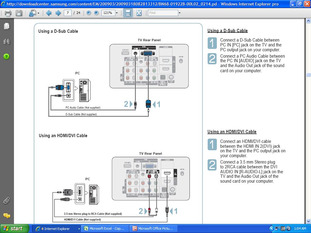 Panasonic Tv Hookup Diagram Wiring Diagrams Hdmi Dvi Is There A For Hooking Up Cable Box Tivo Direct Hook