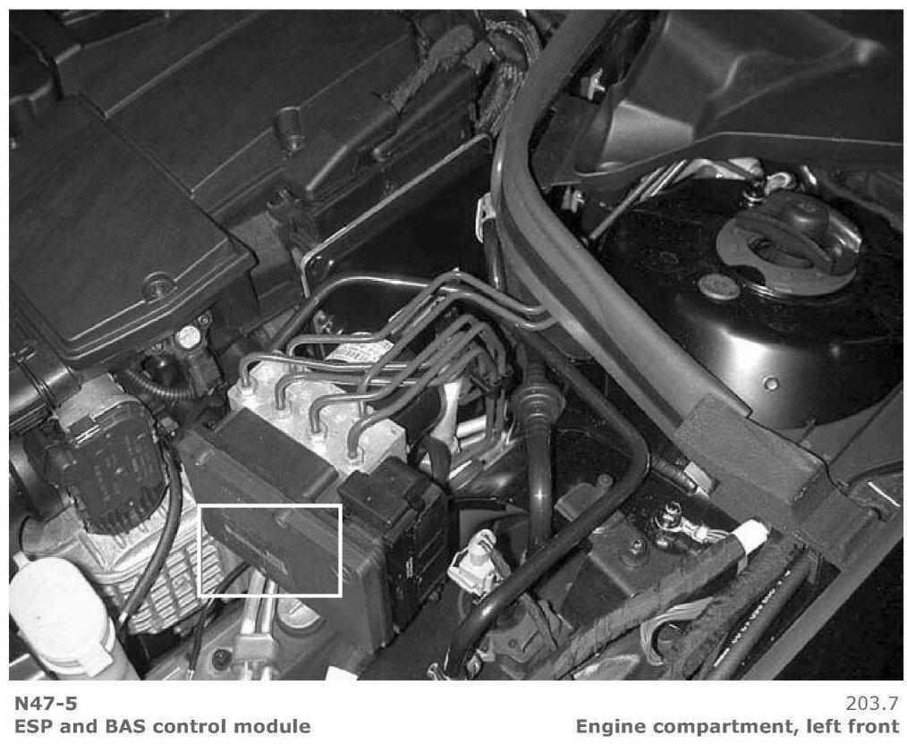 On My 2001 C 240 Sedan The Esp Light Has Gone From