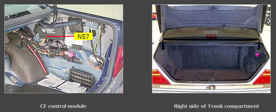 Help need quick advice door lock and trunk handle for Mercedes benz door lock problem