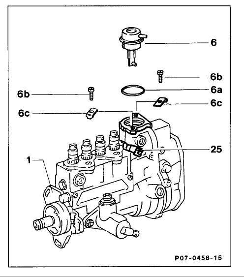 87 mercedes 300d has no fuel pressure to injectors