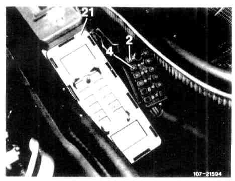 on Mercedes 380sl Engine