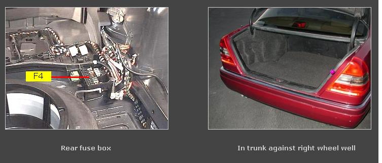 My 1997 C230 Mercedes Door And Trunk Lock No Longer Work