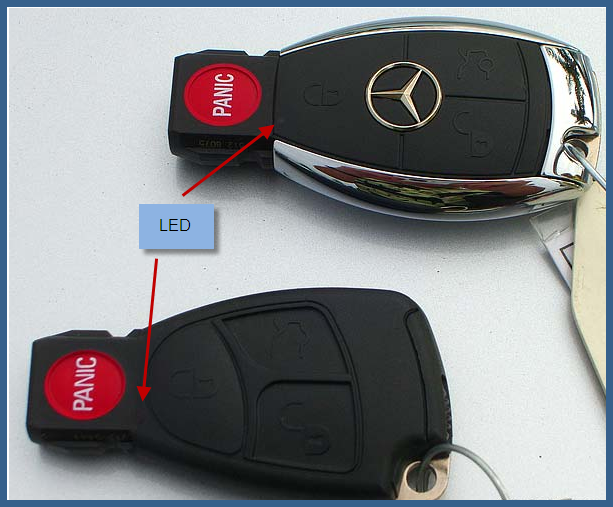If i have a key that the remote is broken what are my for How to change mercedes benz key battery