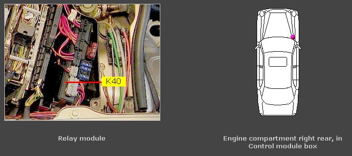 K W A on Mercedes Fuel Pump Relay