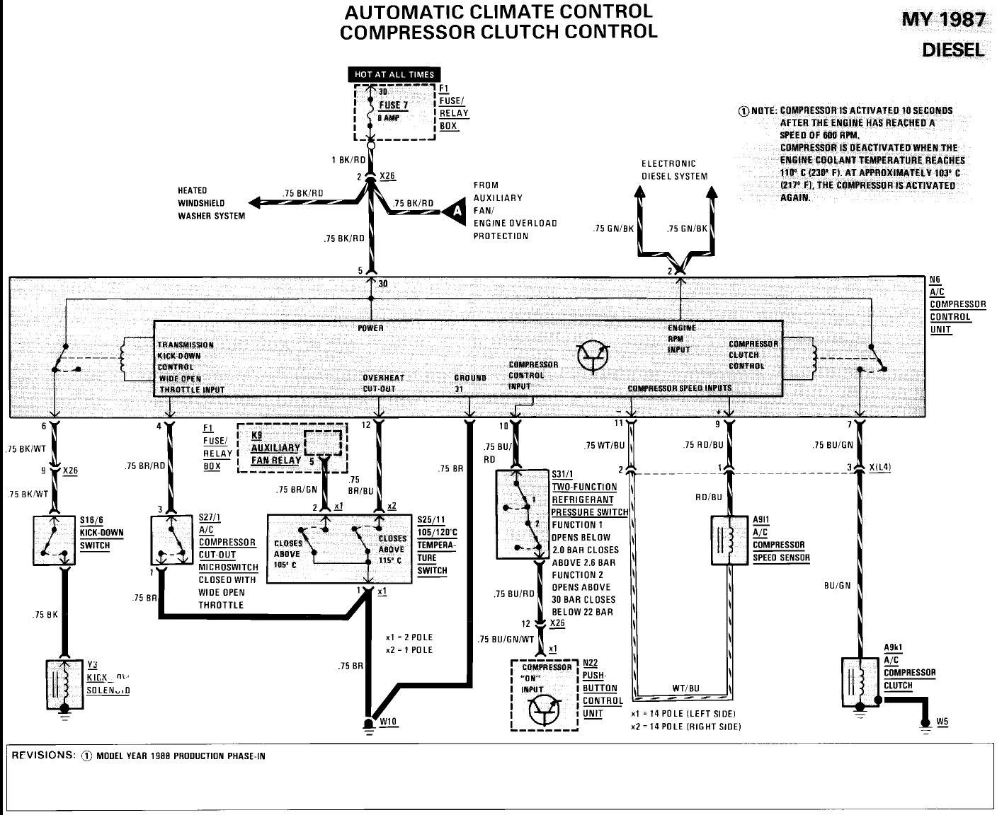 Wiring Diagram For Mercedes 300d : Awesome mercedes d wiring diagram gallery electrical