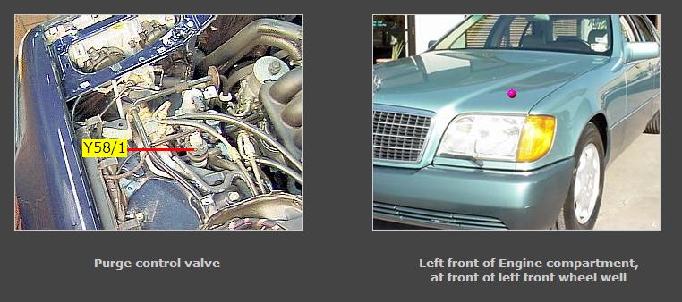1998 S420 Benz Problem Code P0455 Evaporative Big Leak