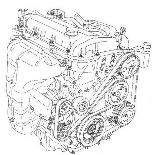 3qev6 Need Serpentine Belt Diagram Mazda 2005 Cyl En on 2011 mazda 3 serpentine belt diagram