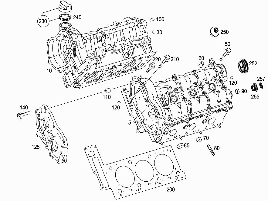 Mercedes e350 engine diagram