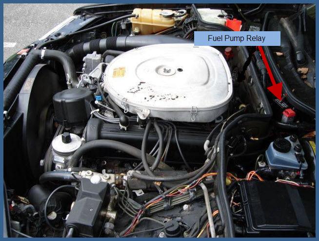 Sel Fuel Pump Relay on Mercedes Fuel Pump Relay