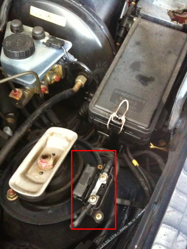Where Is The Blower Fuse On 1994 Mercedes E 420