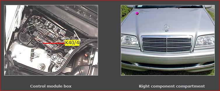 Capture on Mercedes Fuel Pump Relay