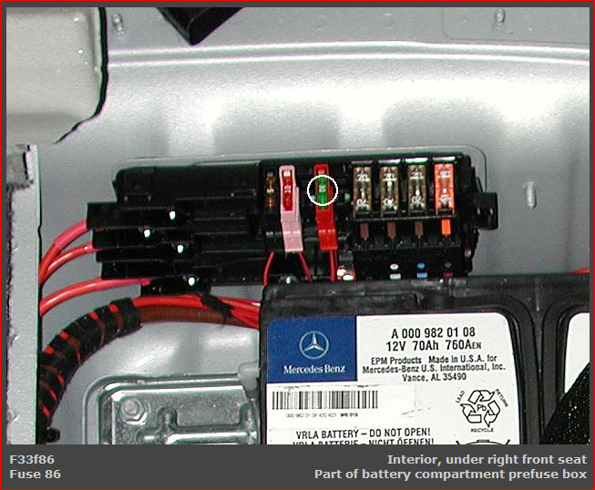 i was wondering if you could help me out i accidentally mercedes ml350 fuse box