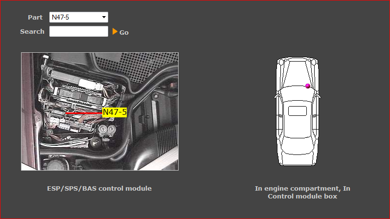I Need To Locate An Abs Control Unit For My Mercedes E430