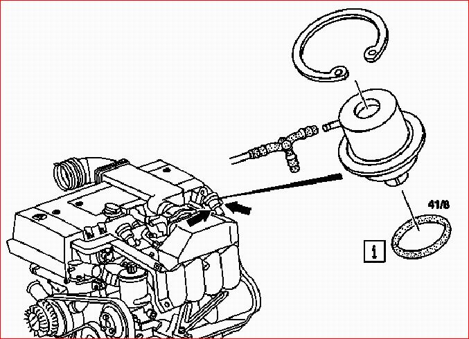 i have a w202 1996 c180  i want to replace the  u0026quot rear u0026quot  fuel
