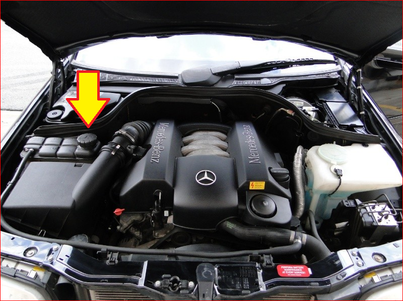 Mercedes Master Tech >> I have a mercedes C280 which heated up and leaked a darker fluid around the drivers side front ...