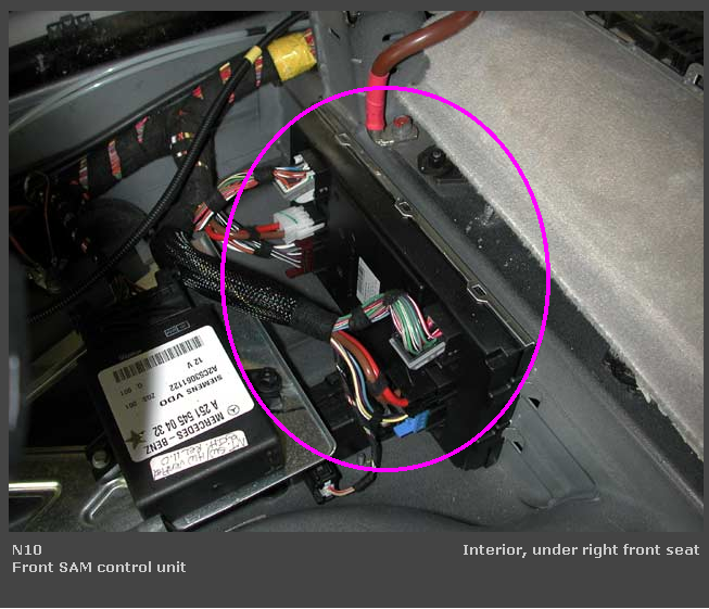 Mercedes sam module problems for 2006 mercedes benz r350 recalls