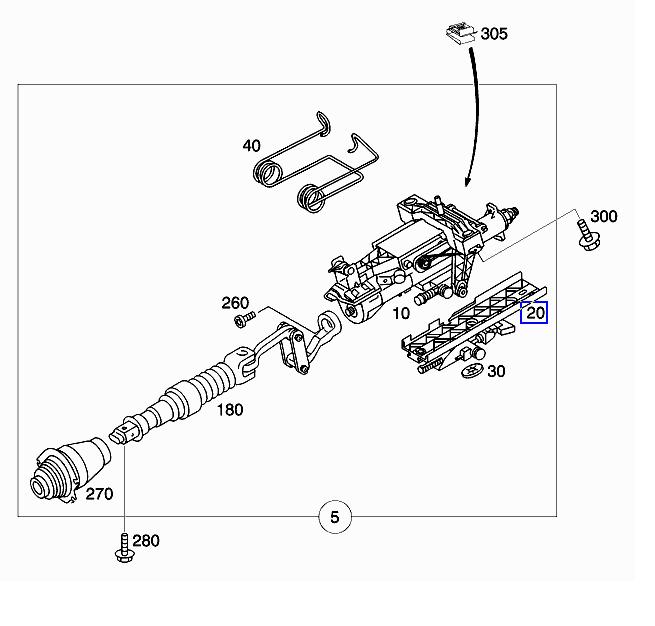 2005 c230 manual tilt telescopic steering wheel won 39 t lock for 2005 mercedes benz c230 kompressor parts