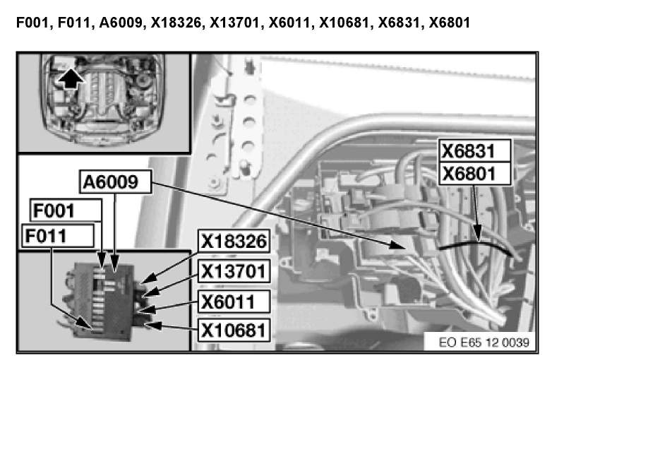 what is the location of all fuse boxes 03 745li bmw graphic graphic