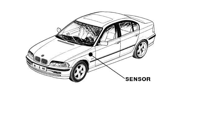 2001 bmw z3 yaw rate sensor