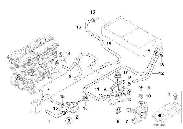 2003 bmw 325i coolant diagram  bmw  auto wiring diagram