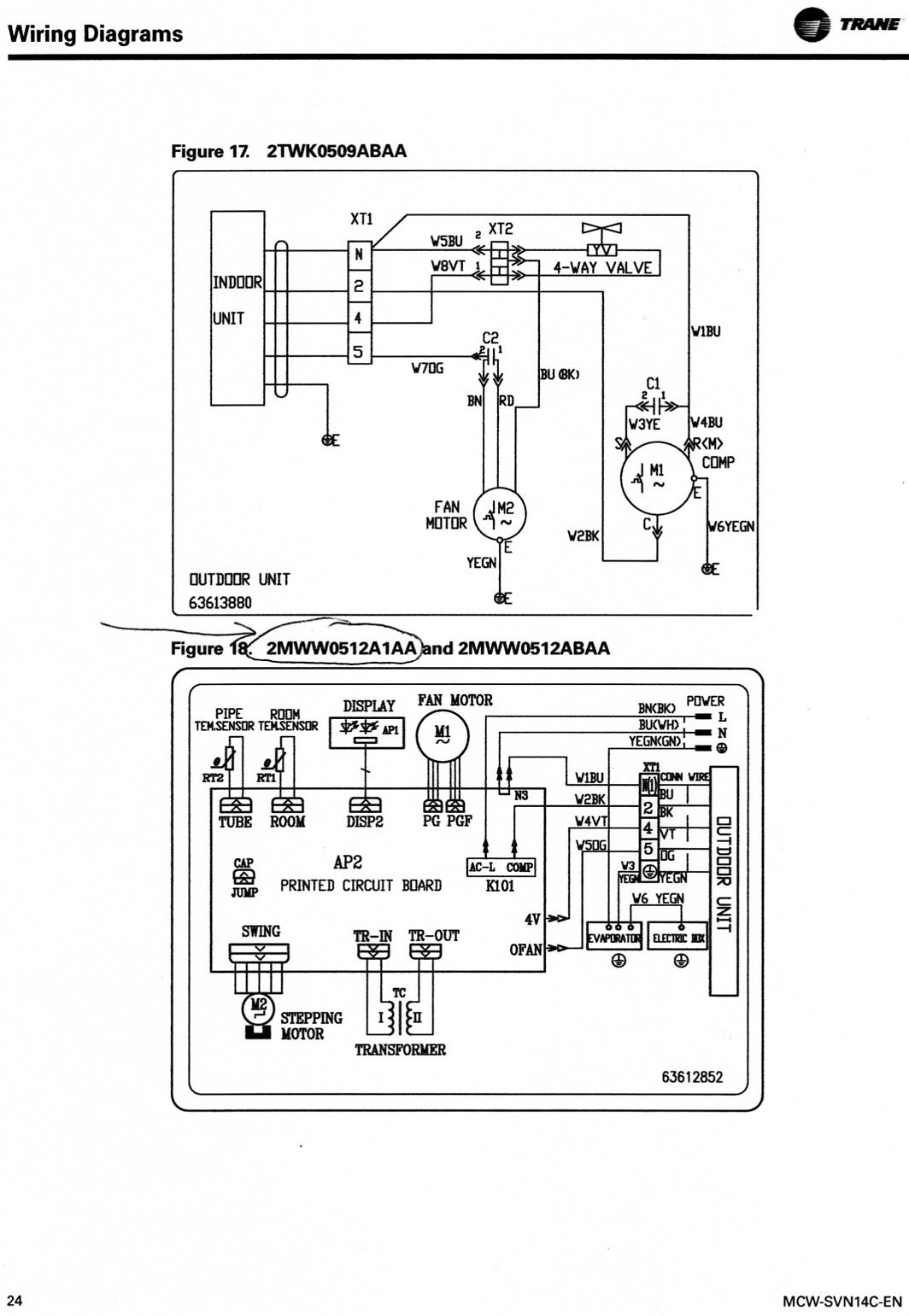 trane thermostat wiring numbers solidfonts trane heat pump thermostat wiring color code diagram and