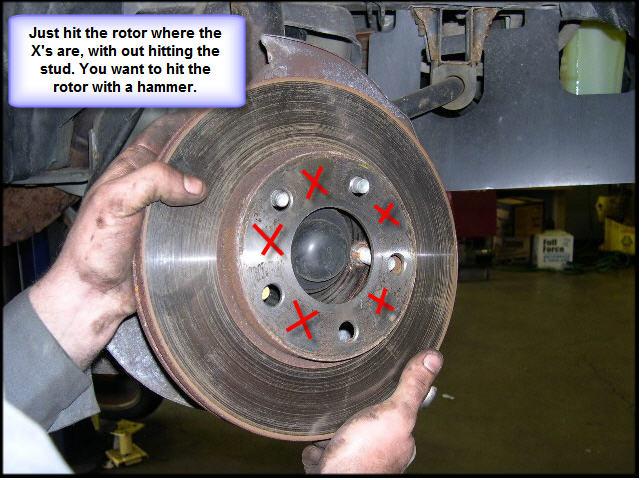 how to fix brake rotors that vibrate