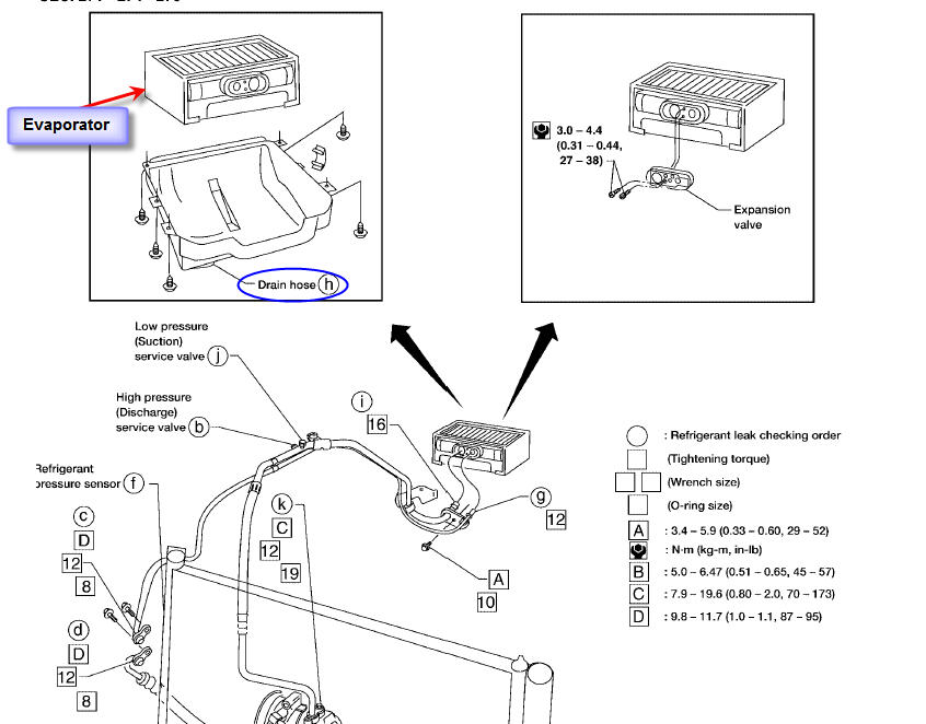 Sentra Ac Drain Hose on 2008 Nissan Altima Ac Wiring Diagram