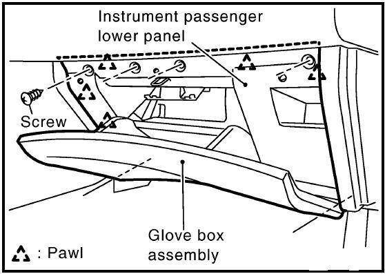 service manual  how to remove glove box in a 2009 maserati