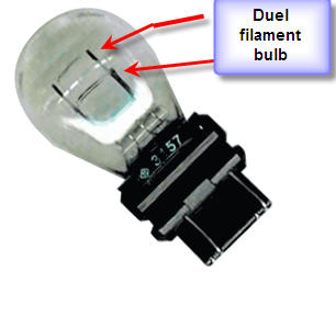 Rear Light Bulb: See image. graphic,Lighting