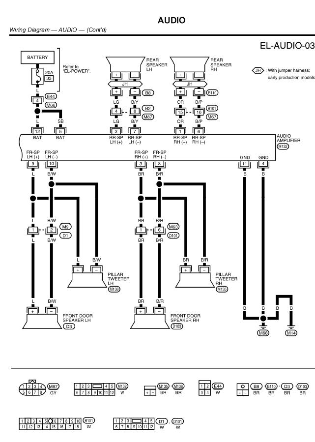 2009 09 23_210941_2002_Xterra_Radio_diagram_w_amp_2 2000 altima wiring diagram diagram wiring diagrams for diy car 2004 nissan sentra stereo wiring diagram at n-0.co