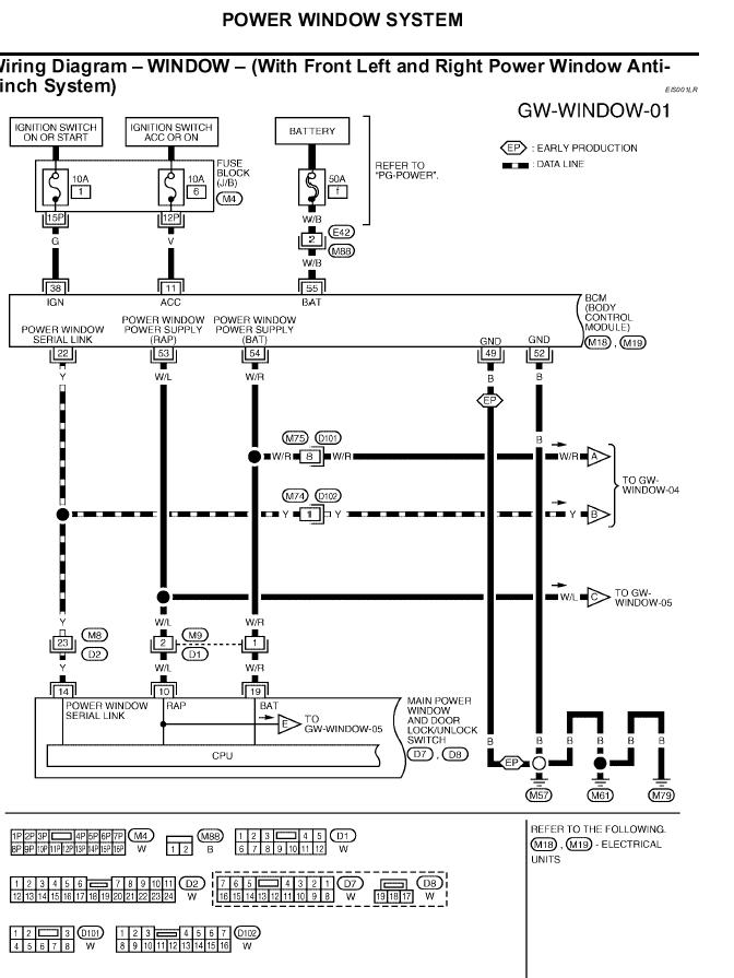 nissan an power window wiring diagram get free image about wiring diagram