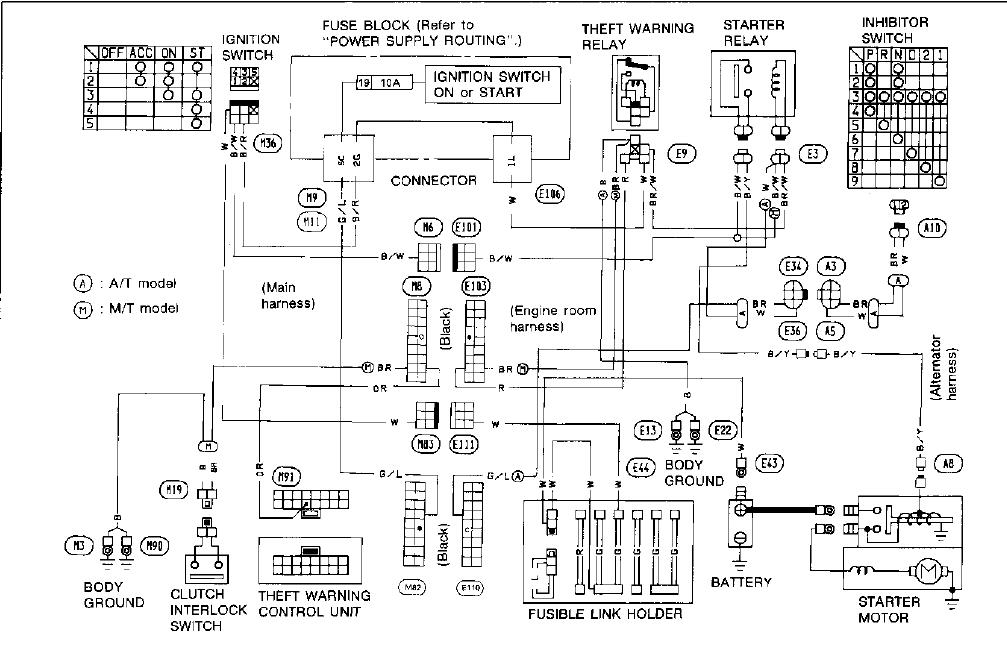 300zx Radio Wiring Diagram  Wds  Wiring Diagram Database