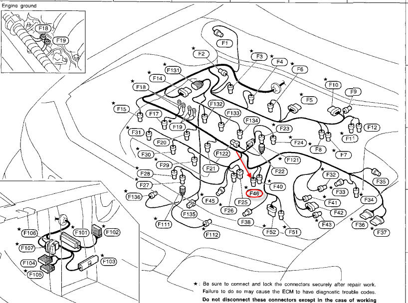 Max Map Sensor Location