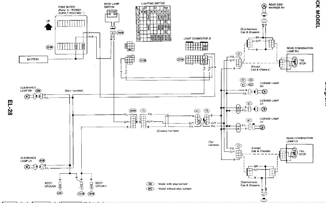 Nissan D21 Wiring Diagram Free | Wiring Diagram on