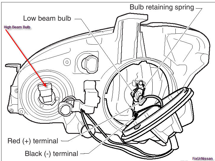 2007 honda pilot headlight diagram  honda  auto wiring diagram