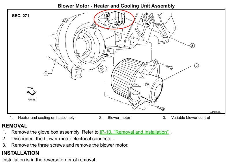 ford blower motor resistor location  ford  free engine