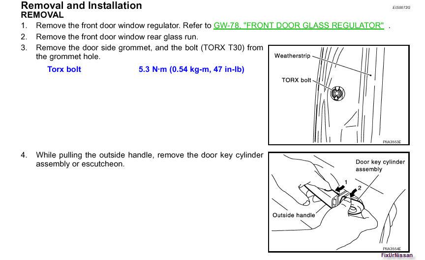 How Do I Replace Door Handles On A Nissan Titan