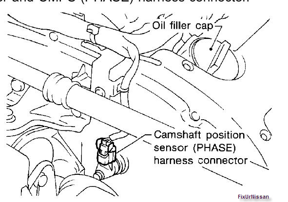 mercedes camshaft position sensor location bank 1