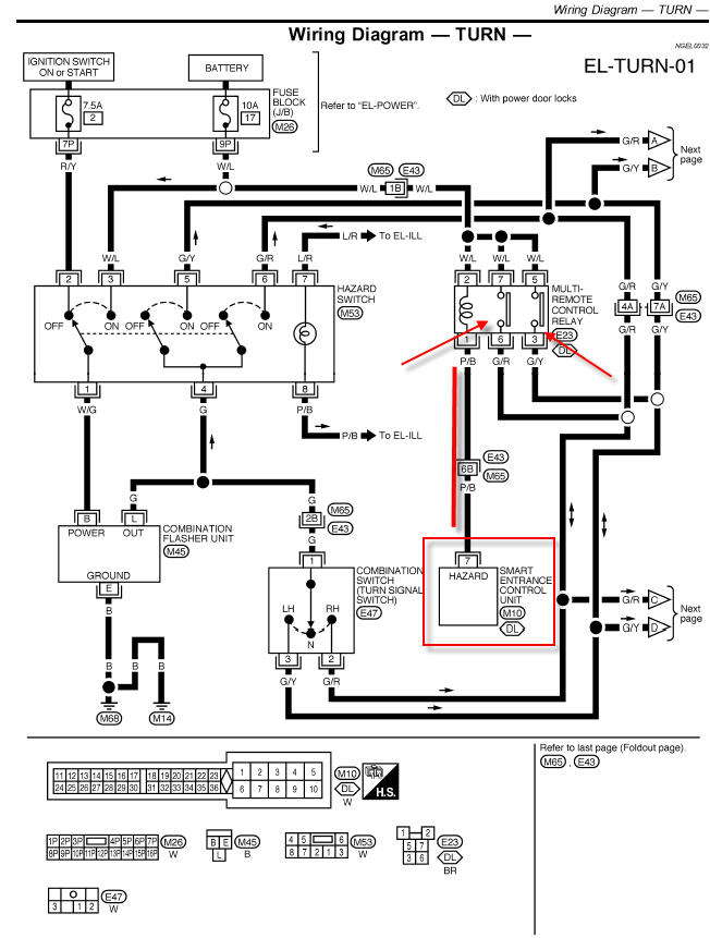 2010 xterra wiring diagram i just reprogrammed to aftermarket keyless remotes for my ... 2003 xterra wiring diagram light