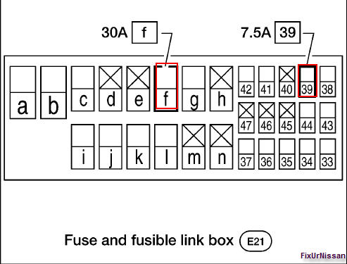 nissan quest fusible link location  nissan  free engine image for user manual download 2001 nissan quest fuse box diagram 2001 nissan quest fuse box diagram
