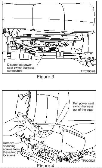 My Infiniti G35 2006 Driver Seat Recliner Switch Is Going