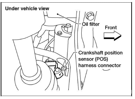 2003 Nissan Altima Security System also Honda Pilot Catalytic Converter O2 Sensor Location likewise 2007 Lincoln Mkz Fuse Box Diagram also 2004 Kia Amanti Fuse Box additionally 1998 05 Infiniti I30 V6 3 0l Serpentine Belt Diagram. on 2003 nissan murano fuel filter location