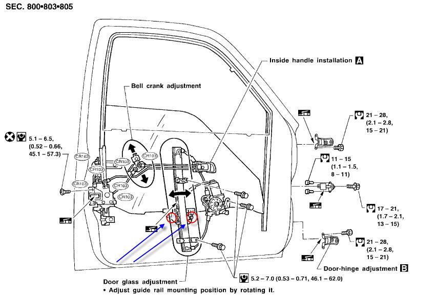 diagrams to remove 2010 nissan cube driver door panel